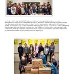 Schüler packen Weihnachtspakete